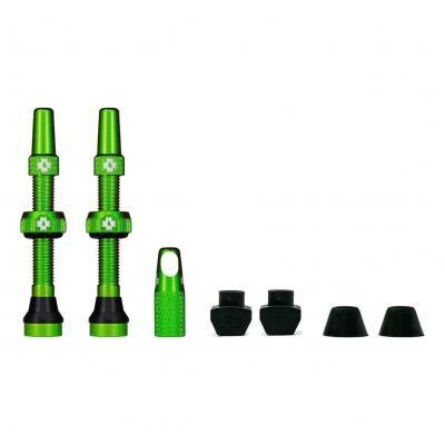 Kit de valves Tubeless Muc-Off 44 mm Vert (La paire)