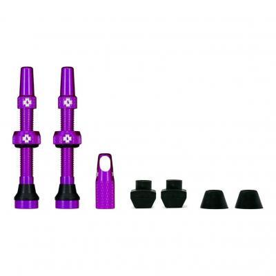 Kit de valves Tubeless Muc-Off 44 mm Violet (La paire)
