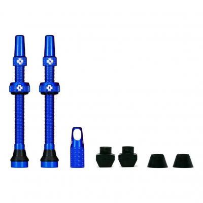 Kit de valves Tubeless Muc-Off 60 mm Bleu (La paire)