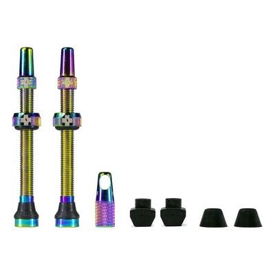 Kit de valves tubeless Muc-Off 60 mm (Paire)