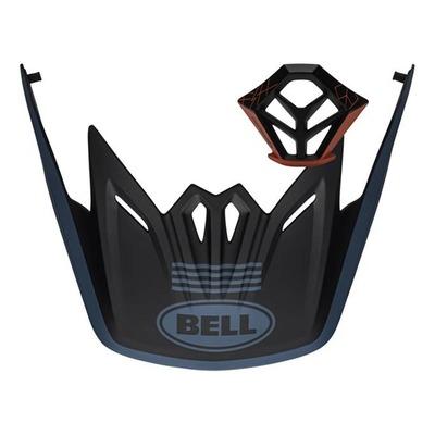 Kit visière + ventilation mentonnière Bell Full-9 Bleu/Noir