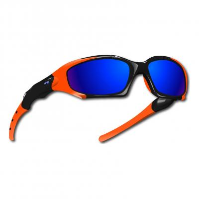 Lunettes Power Race Maverick Hydrophobes Noir/Orange