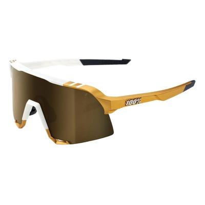 Lunettes 100% S3 Peter Sagan LE White/Gold