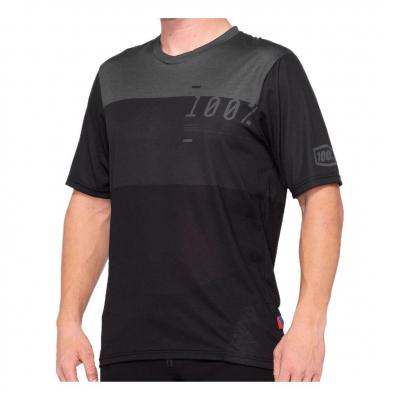 Maillot 100% Airmatic Charcoal/Black