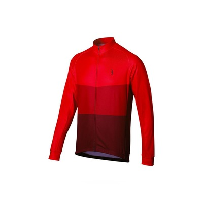 Maillot manches longues BBB Keirin LS Rouge – BBW-381