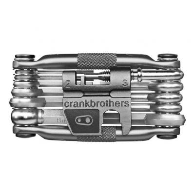 Multi-outils CrankBrothers 17 fonctions Nickel