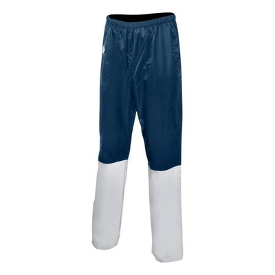 Pantalon de pluie imperméable avec réflecteur Bleu/Gris