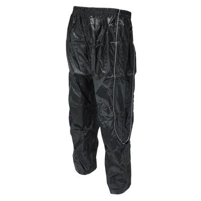 Pantalon de pluie Waterproof avec réflecteur Noir