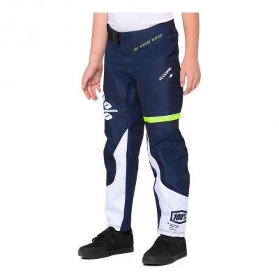 Pantalon Enfant 100% R-Core Dark Blue/Yellow