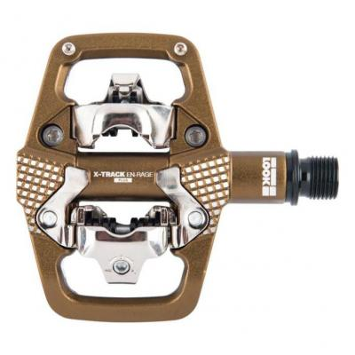 Pédales VTT LOOK X-Track Rage PLUS Enduro Bronze
