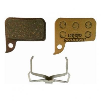 Plaquettes de frein Braking P20 carbone/métalliques pour Sram Red Hydraulique
