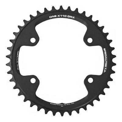 Plateau vélo route TA One X110 42 dents Noir