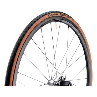 Pneu Deli Tire Swift Wizt 700 x 25C TS Noir-Marron