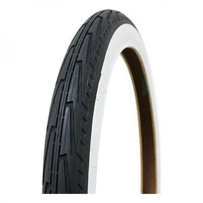 Pneu Michelin City J. 450A Confort 18 x 1.3/8 Noir/Blanc