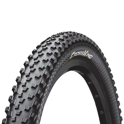 Pneu VTT Continental Cross King 26 x 2.00 Noir