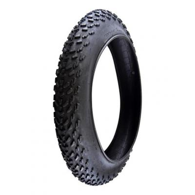 Pneu VTT Fat Bike 20x4.00 TR Noir
