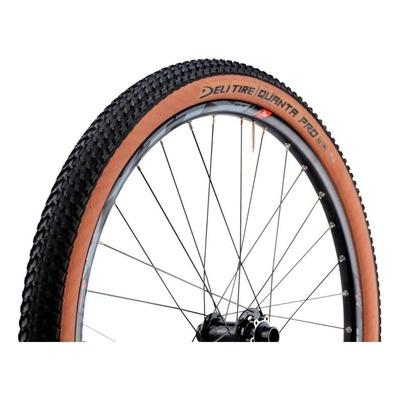 Pneu VTT/Gravel Deli Tire Quanta Pro 26 x 2.10 TS Noir/Marron