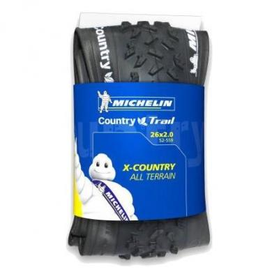 Pneu VTT Michelin Country Trail 26X2.00 Tubeless Ready Ts Noir