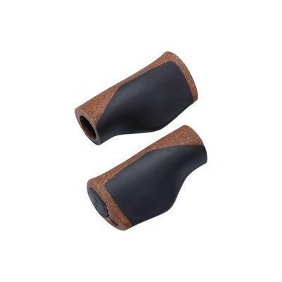 Poinées ergonomiques BBB Mamba 92 mm Marron/Noir – BHG-102