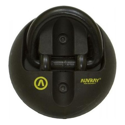 Point fixe d'ancrage Auvray 65x42 mm Noir
