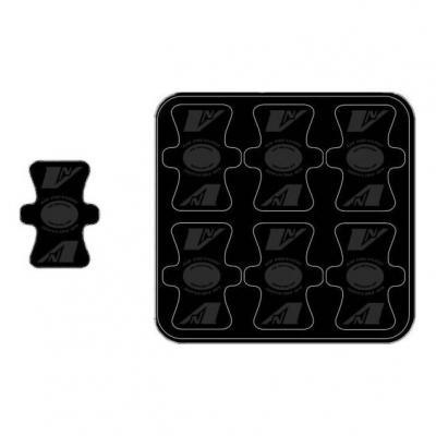 Protection de valve Vnoïse adhésif (x6) Noir mat