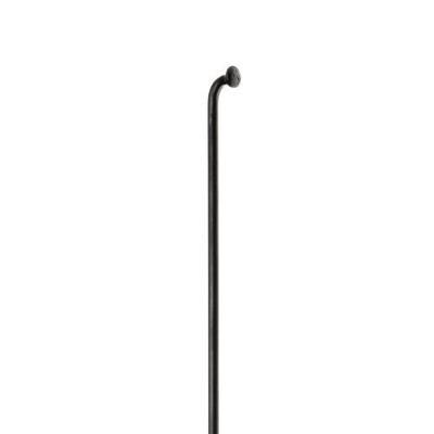 Rayon M 2x282 mm en inox Noir
