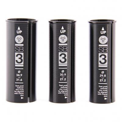 Réducteur de Tube de Selle SB3 D.27,2 vers 31,6 mm L.90 mm