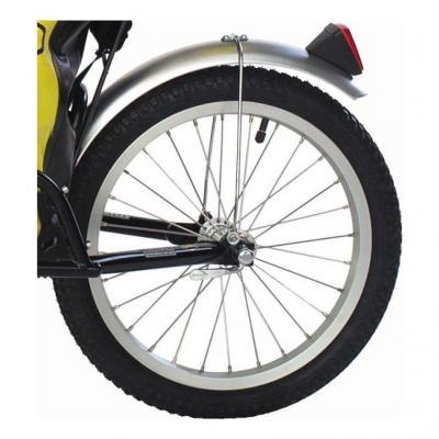 "Roue B.O.B. YAK 16"" avec pneu et serrage rapide"