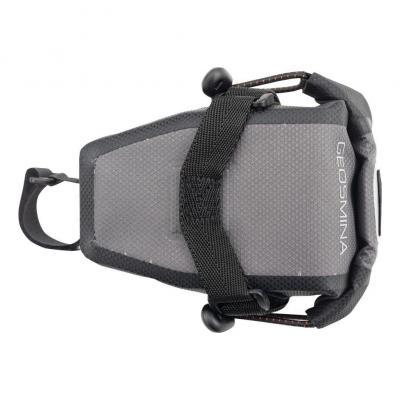 Sacoche de Selle Geosmina Saddle Tool Bag 0.6 L Gris