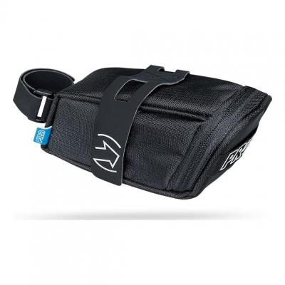 Sacoche de Selle PRO Medium 0,6 L Attache Velcro Noir
