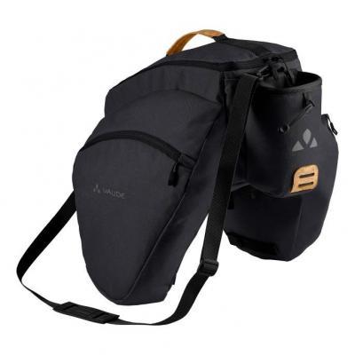 Sacoche de porte-bagage Vaude eSilkroad Plus 22 L Noir