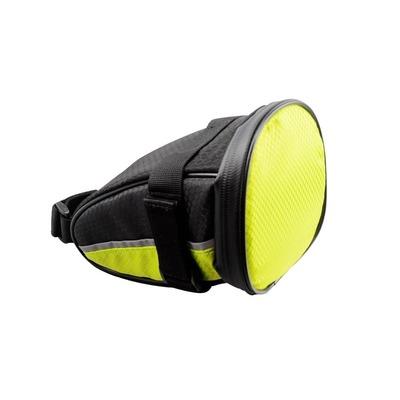 Sacoche de selle vélo Optimiz avec signalisation intégrée indicateur de direction Noir/Jaune