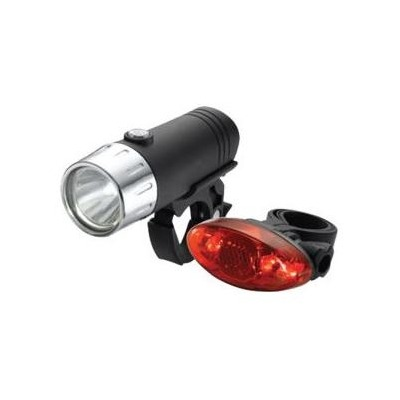 Set d'éclairage AV+AR Torch High Beamer Spot 1W + Tail Brigh Spot 4