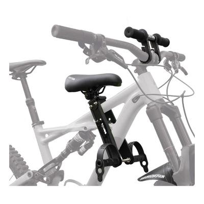 Siège enfant de vélo tout-terrain Shotgun Combo Selle + Cintre Noir