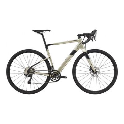 Vélo de Gravel Cannondale Topstone Carbone 4 Champagne 2021