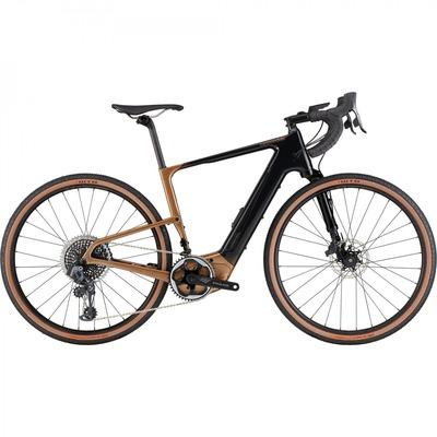 Vélo de gravel électrique Cannondale Topstone Neo Carbon LE Lefty AXS Copper 2021