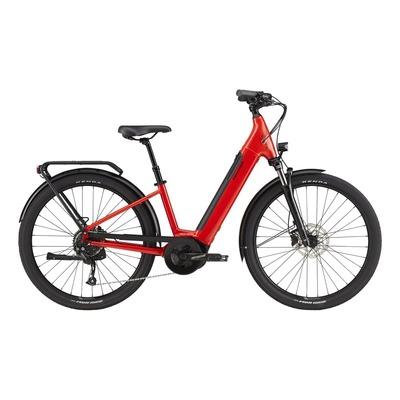 Vélo électrique Cannondale Adventure Neo 3 EQ Rouge 2021