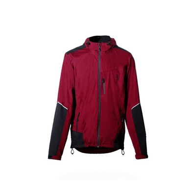 Veste imperméable BBB DeltaShield Bordeaux – BBW-268