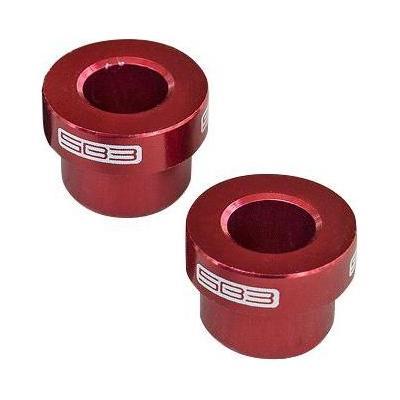 Entretoises d'amortisseur SB3 38 x 8 mm (Paire) Rouge
