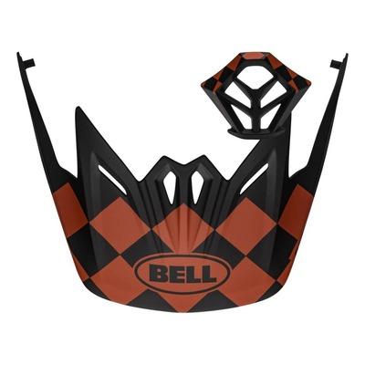 Kit visière + ventilation mentonnière Bell Full-9 Rouge/Noir