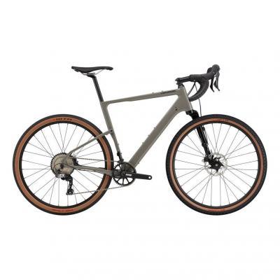 Vélo de Gravel Cannondale Topstone Carbone Lefty 3 Stealth Gris 2021