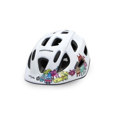 Casque vélo enfant Cannondale Burgerman Colab Kids XS/S Blanc