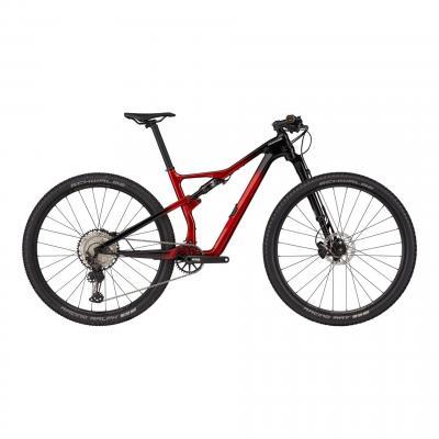VTT Cannondale Scalpel Carbon 3 Rouge/Noir 2021