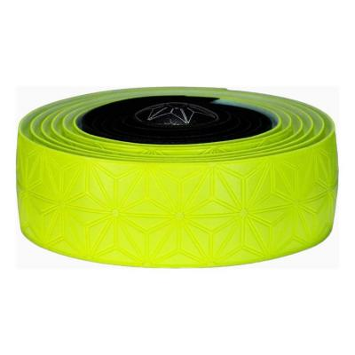 Ruban de cintre Supacaz Super Sticky Kush Tape Jaune Fluo/Noir