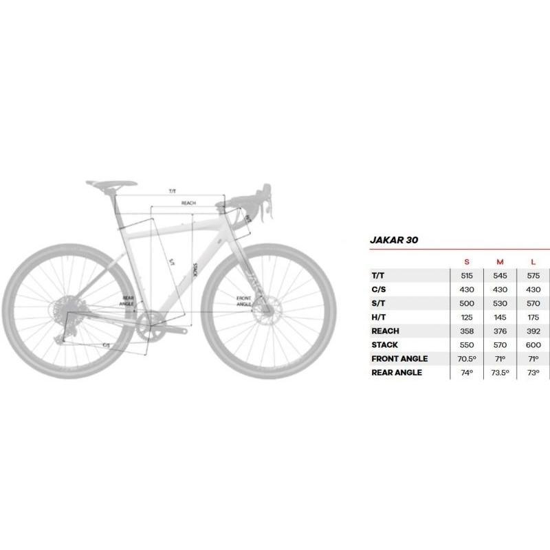 Vélo de Gravel Megamo Jakar 30 GRX Noir 2020 - 6