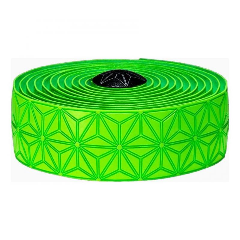 Ruban de cintre Supacaz Super Sticky Kush Tape Vert Fluo
