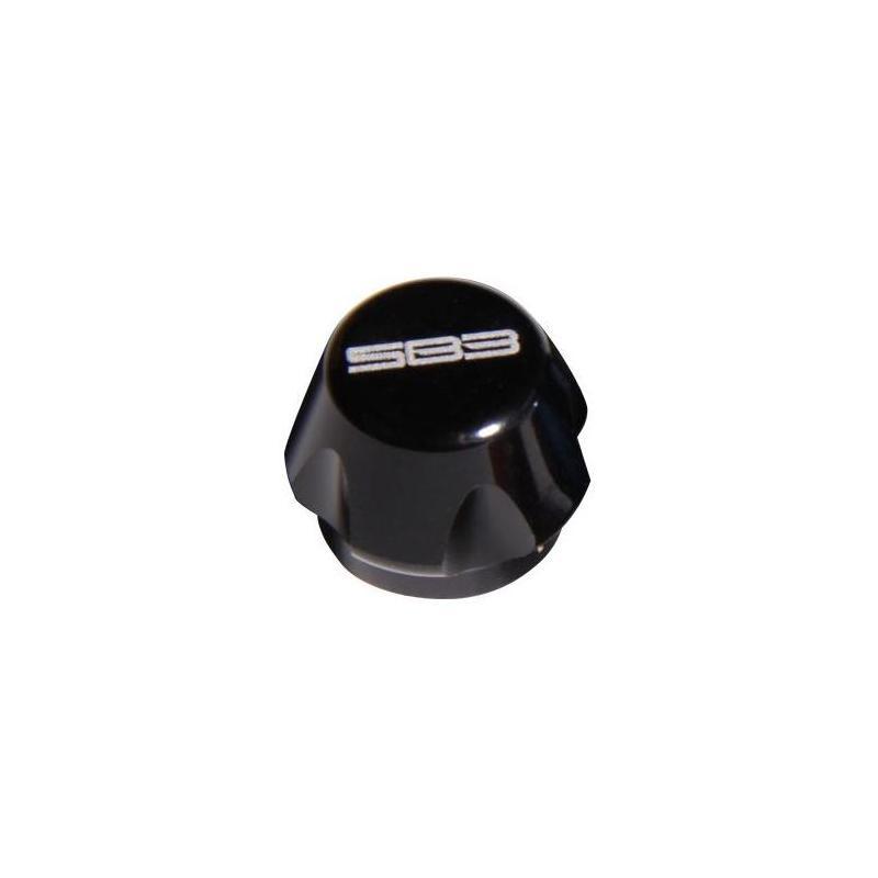 Bouchon SB3 pour valve d'amortisseur Noir