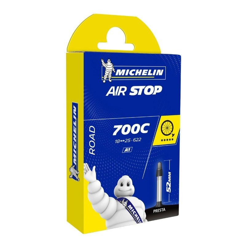 Chambre à air Michelin 700 x 18/25C A1 Presta 52 mm
