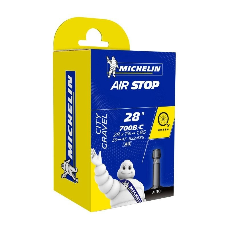 Chambre à air Michelin 700 x 35/47C/B A3 Schrader 34 mm