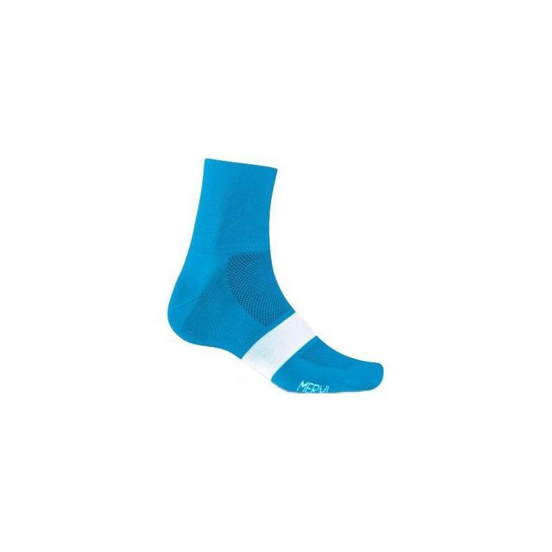 Chaussettes Giro COMP Racer Bleu/Blanc